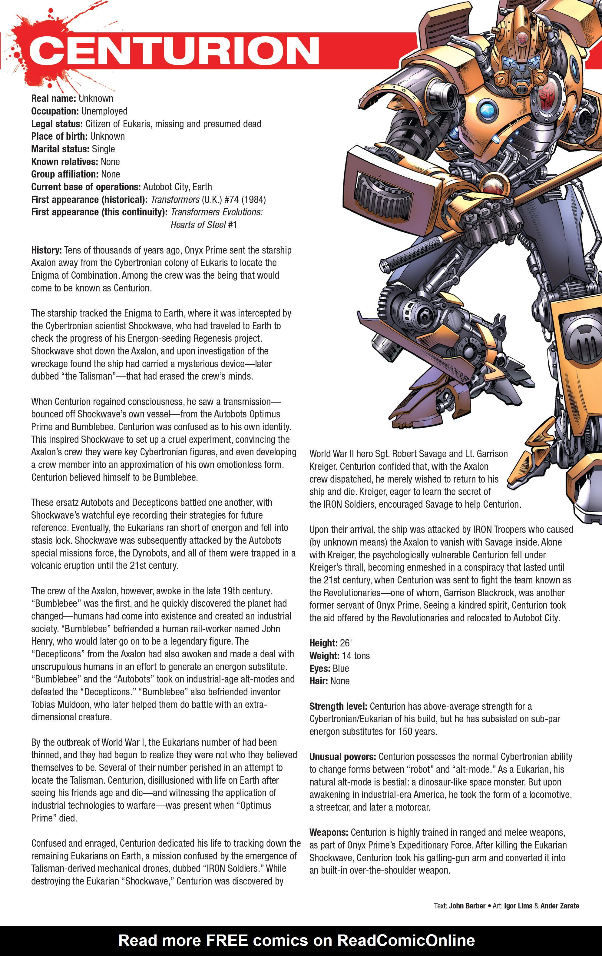 Read online Hasbro Heroes Sourcebook comic -  Issue #1 - 28
