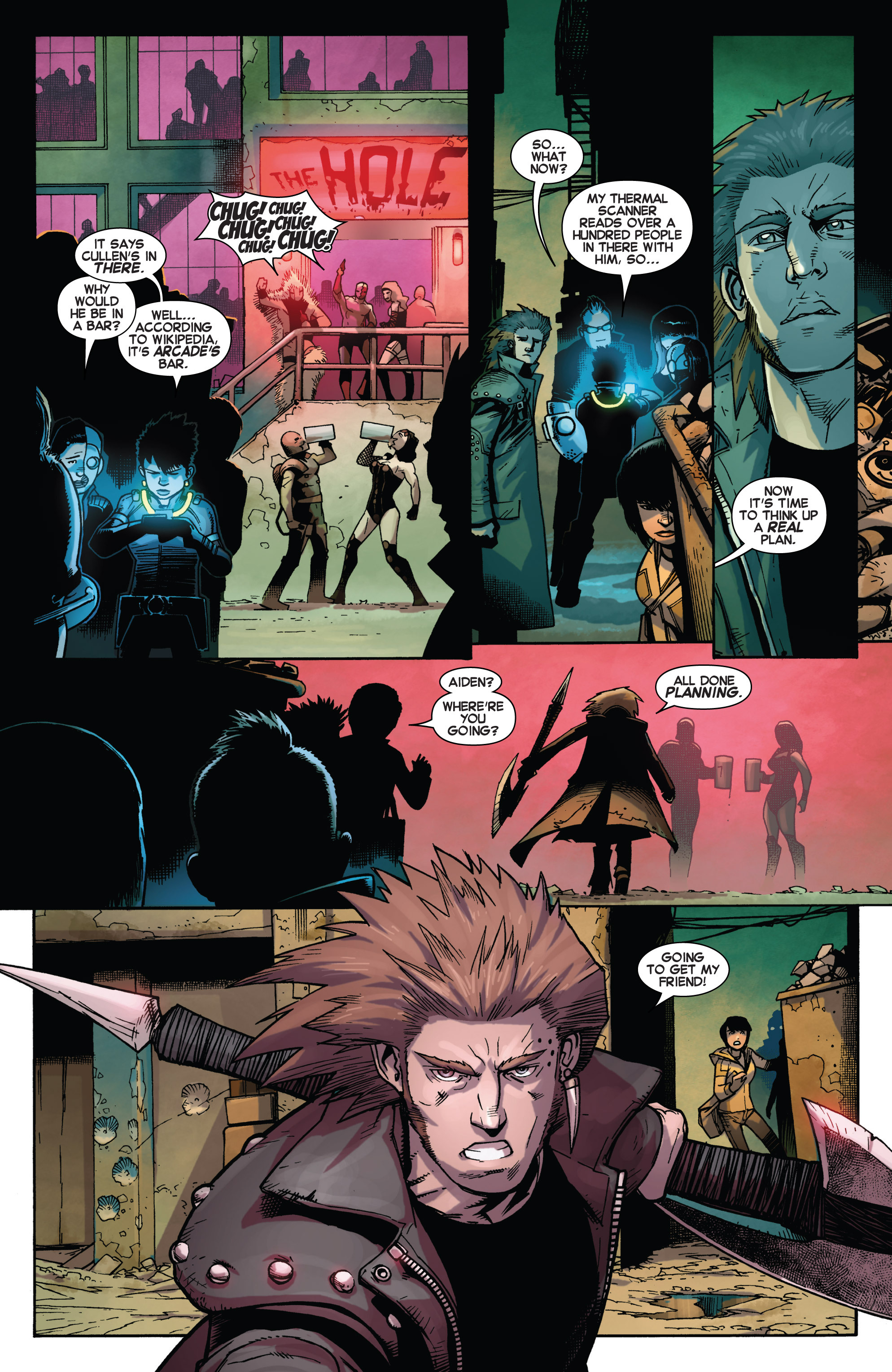 Read online Avengers Undercover comic -  Issue #2 - 7