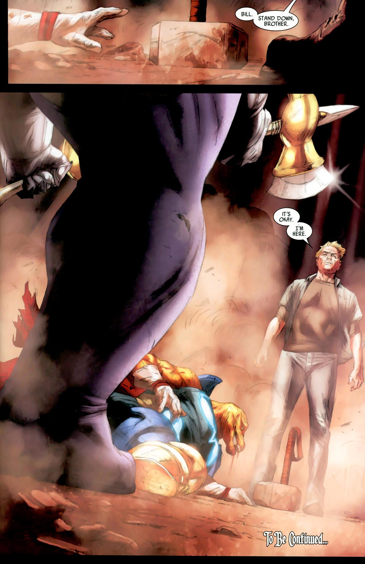 Read online Secret Invasion: Thor comic -  Issue #2 - 23