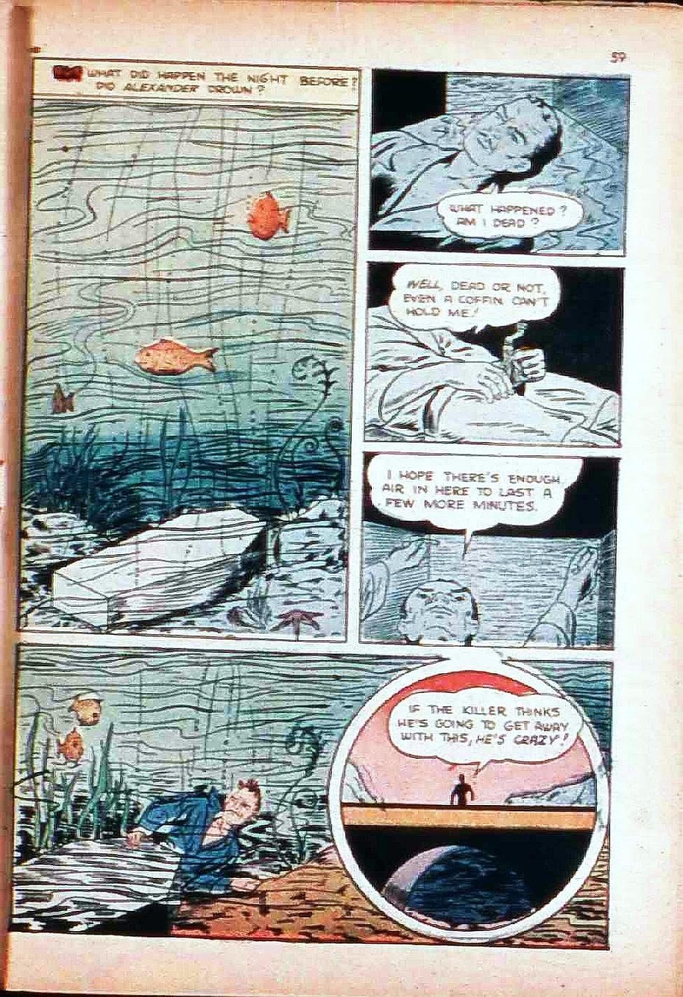 Read online Super-Magician Comics comic -  Issue #17 - 58