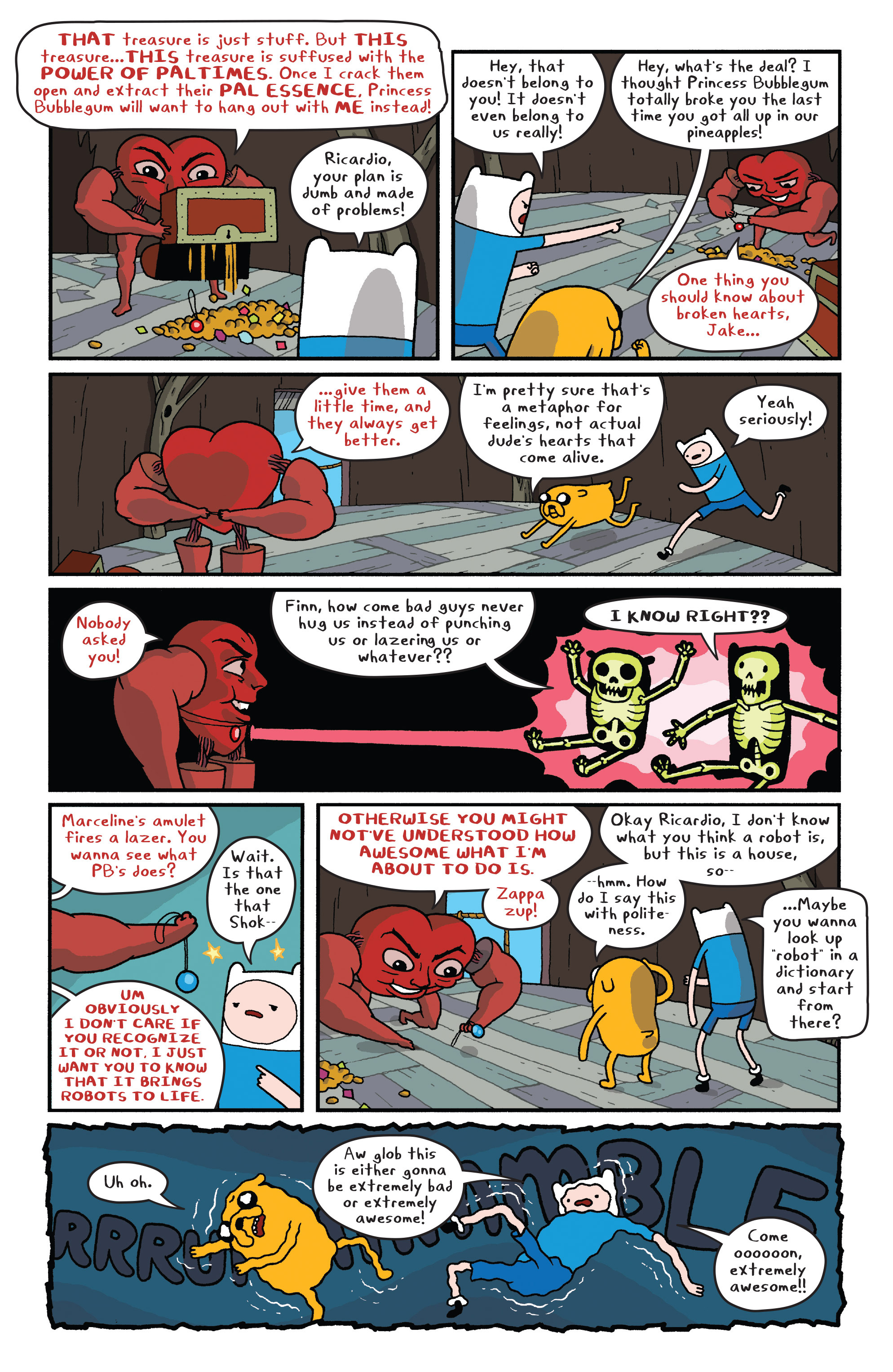 Read online Adventure Time comic -  Issue #Adventure Time _TPB 6 - 22