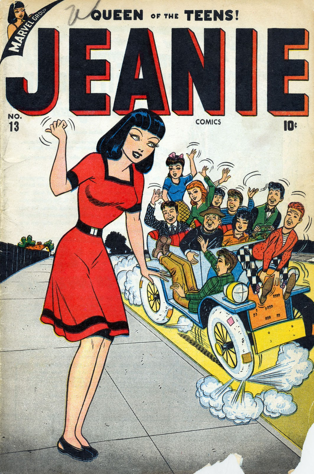 Jeanie Comics 13 Page 1