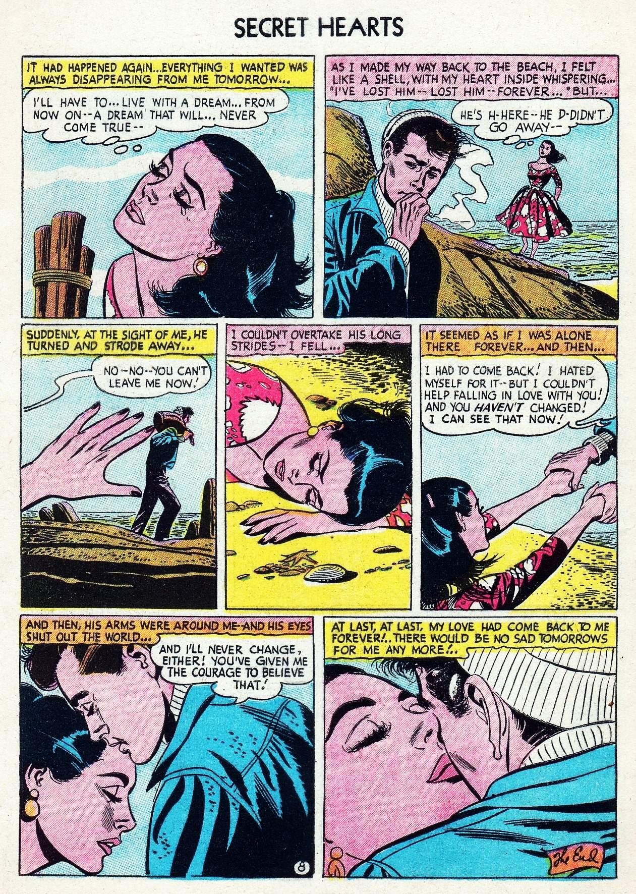 Read online Secret Hearts comic -  Issue #29 - 34