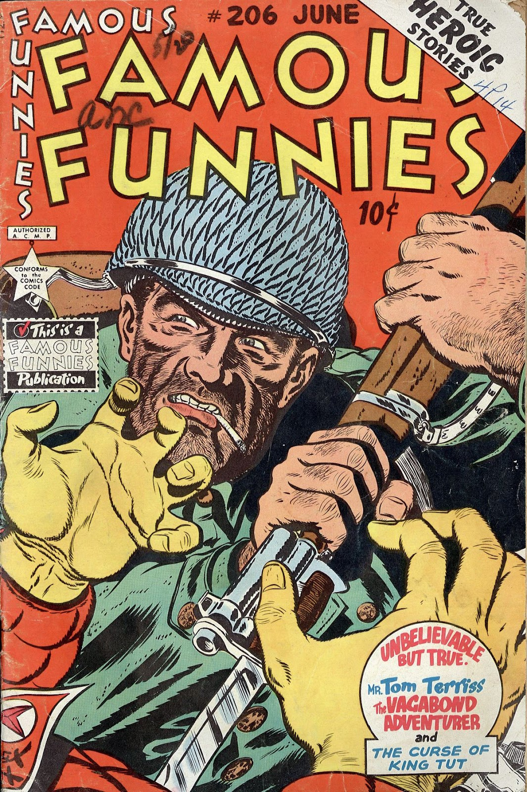 Read online Famous Funnies comic -  Issue #206 - 1