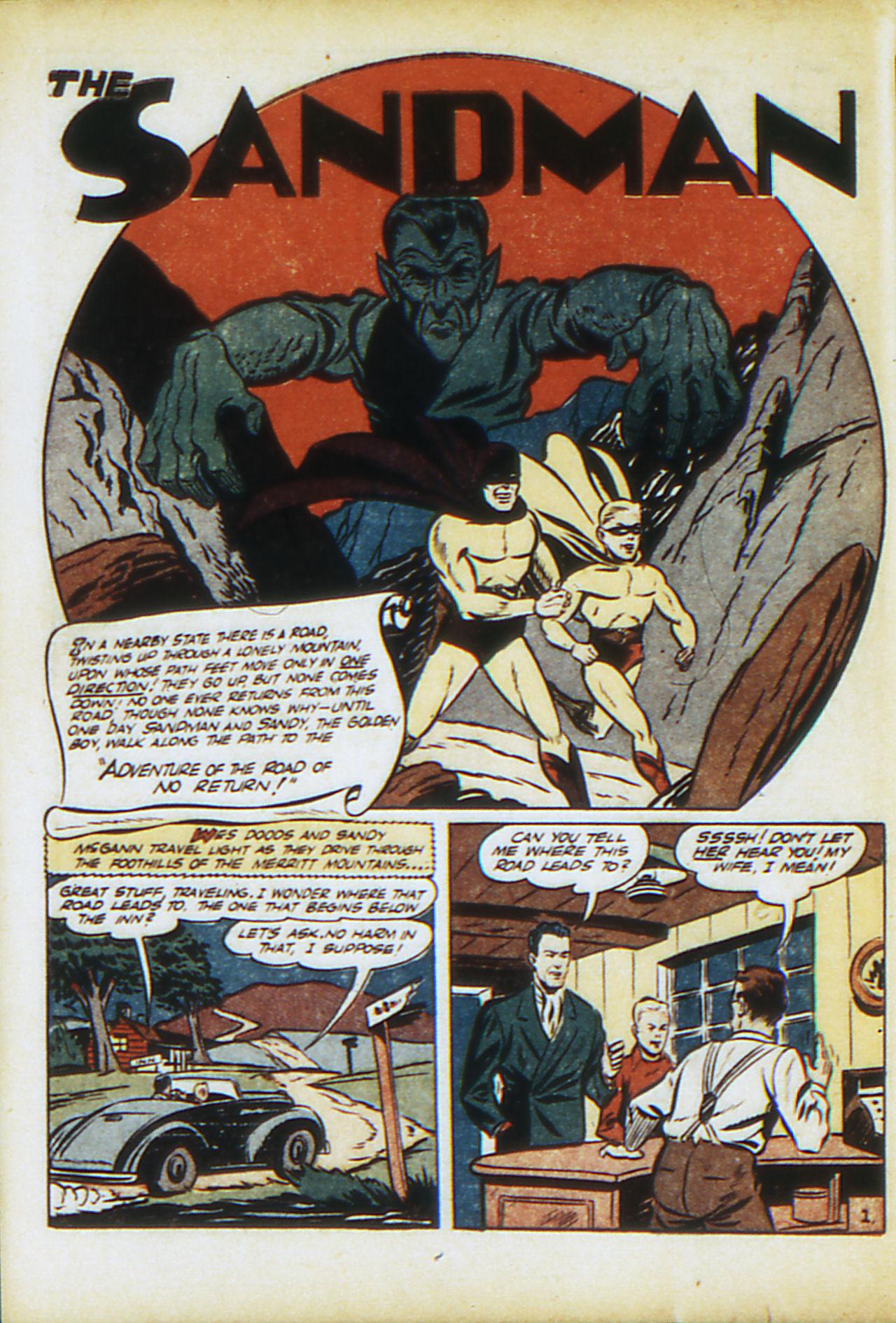 Read online Adventure Comics (1938) comic -  Issue #71 - 59
