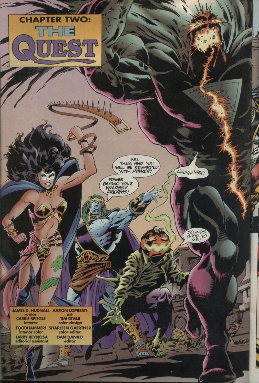 Read online Godwheel comic -  Issue #1 - 15