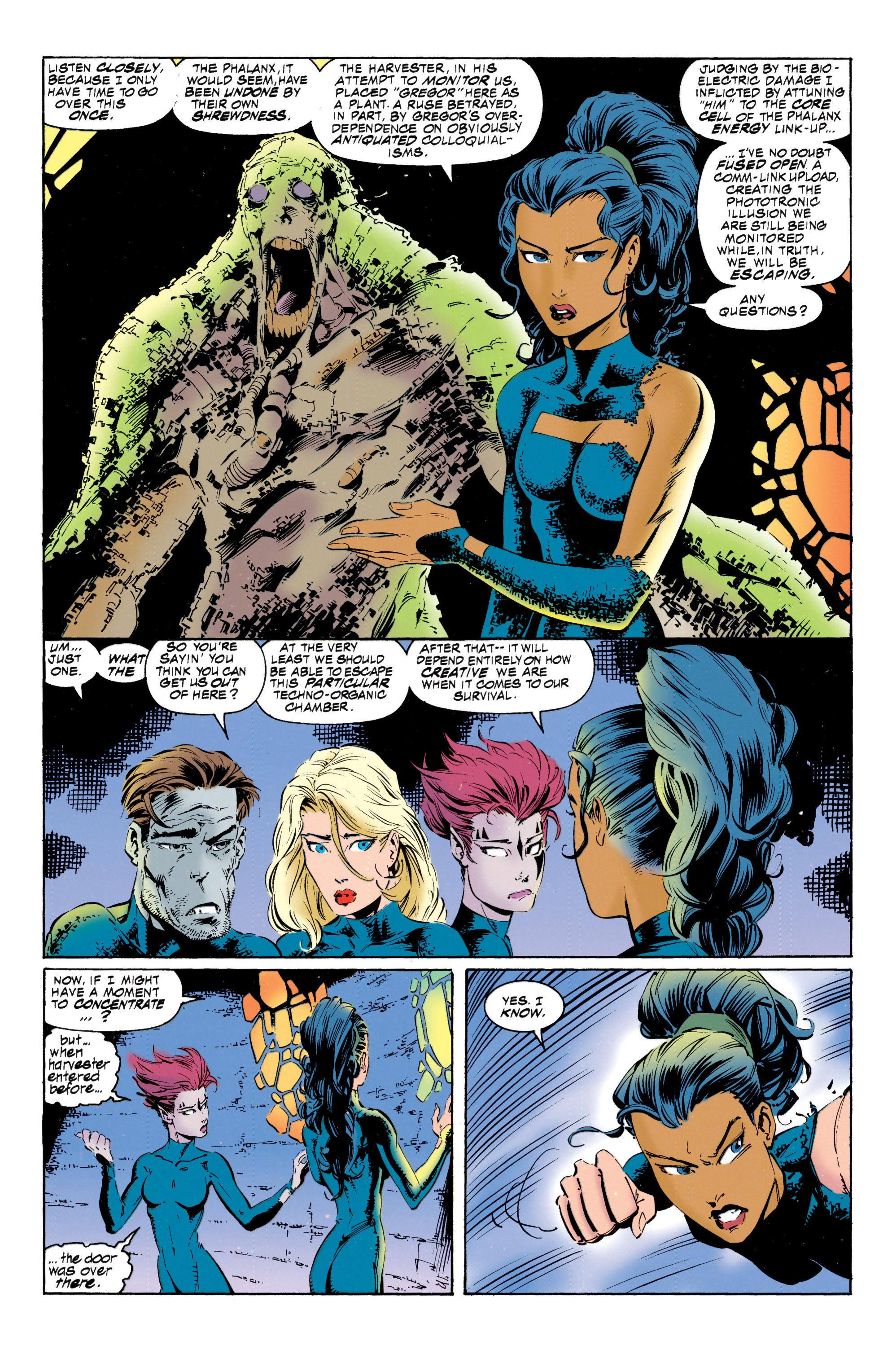 Read online Uncanny X-Men (1963) comic -  Issue #317 - 21