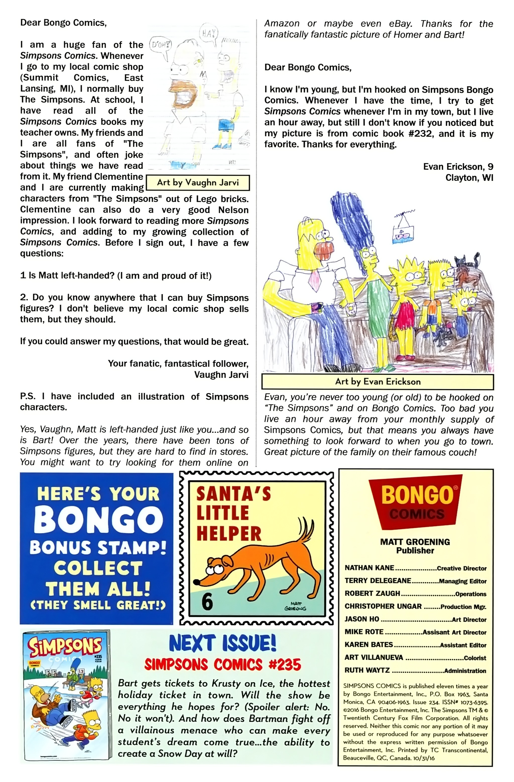 Read online Simpsons Comics comic -  Issue #234 - 29
