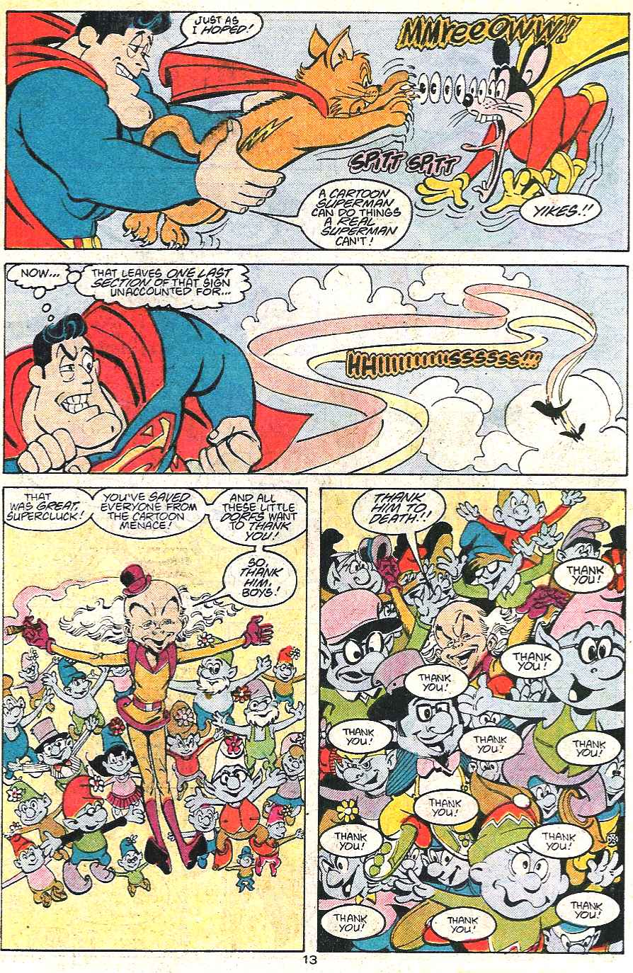 Read online Adventures of Superman (1987) comic -  Issue #441 - 14
