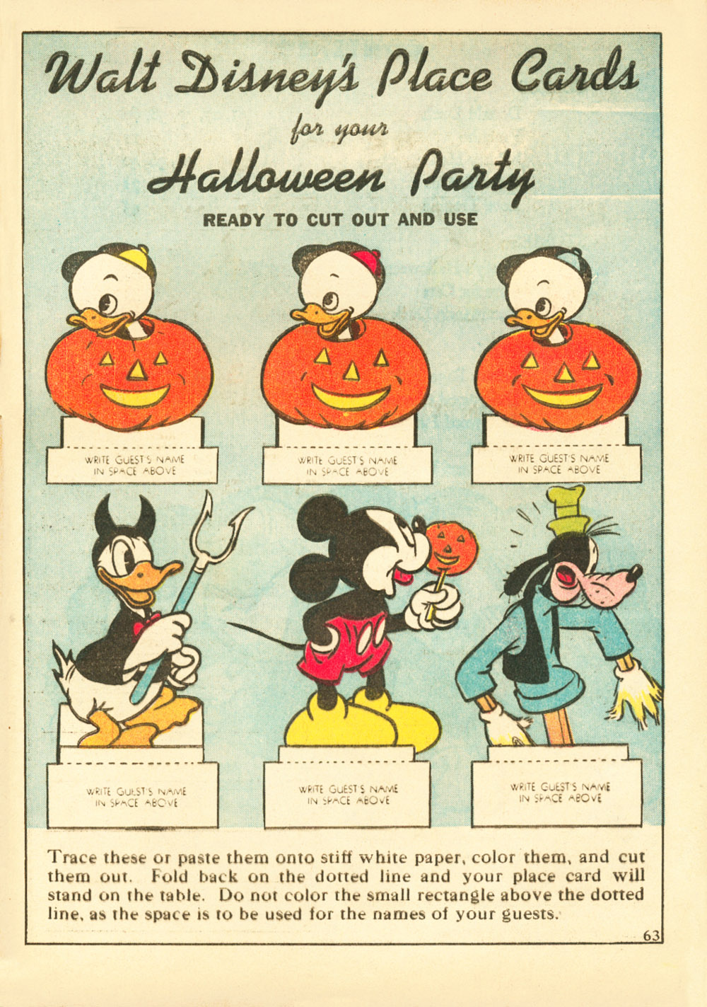 Walt Disney's Comics and Stories issue 38 - Page 65