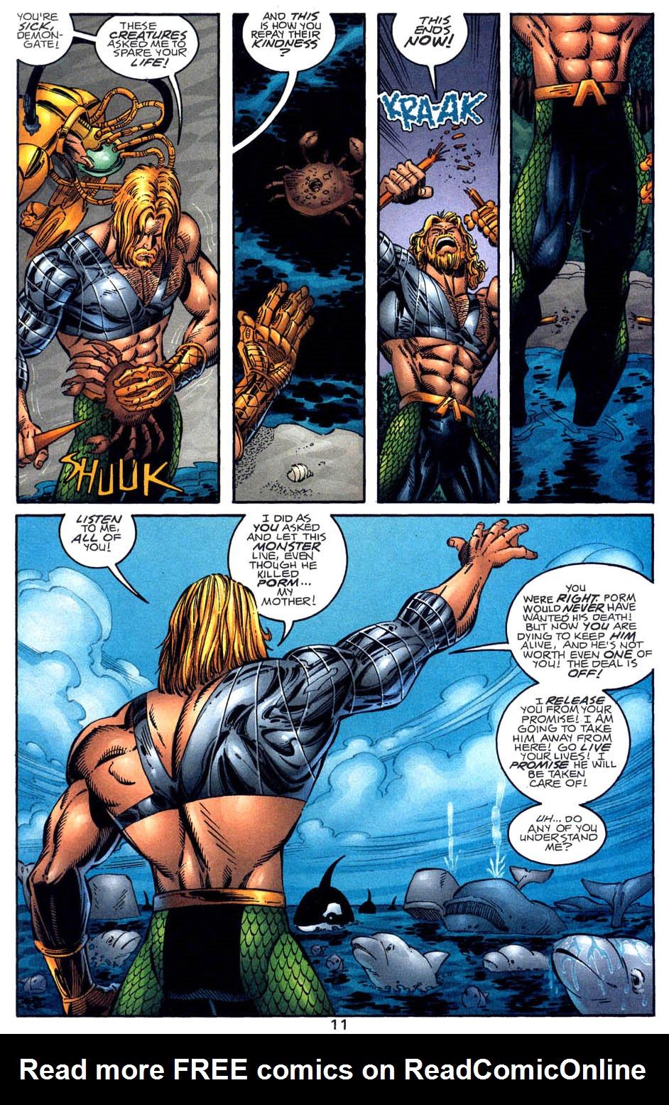Read online Aquaman (1994) comic -  Issue #58 - 11