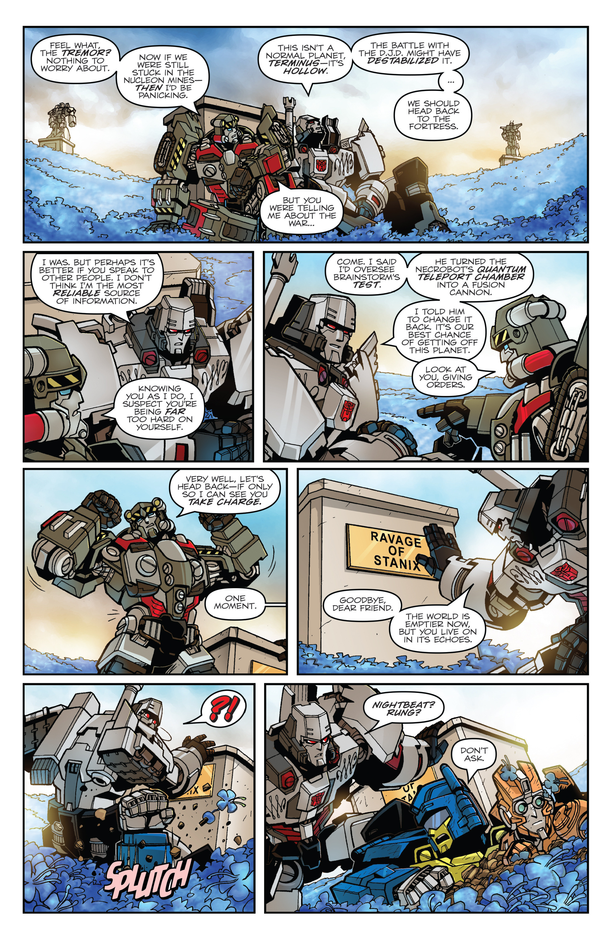 Read online Transformers: Lost Light comic -  Issue #1 - 14