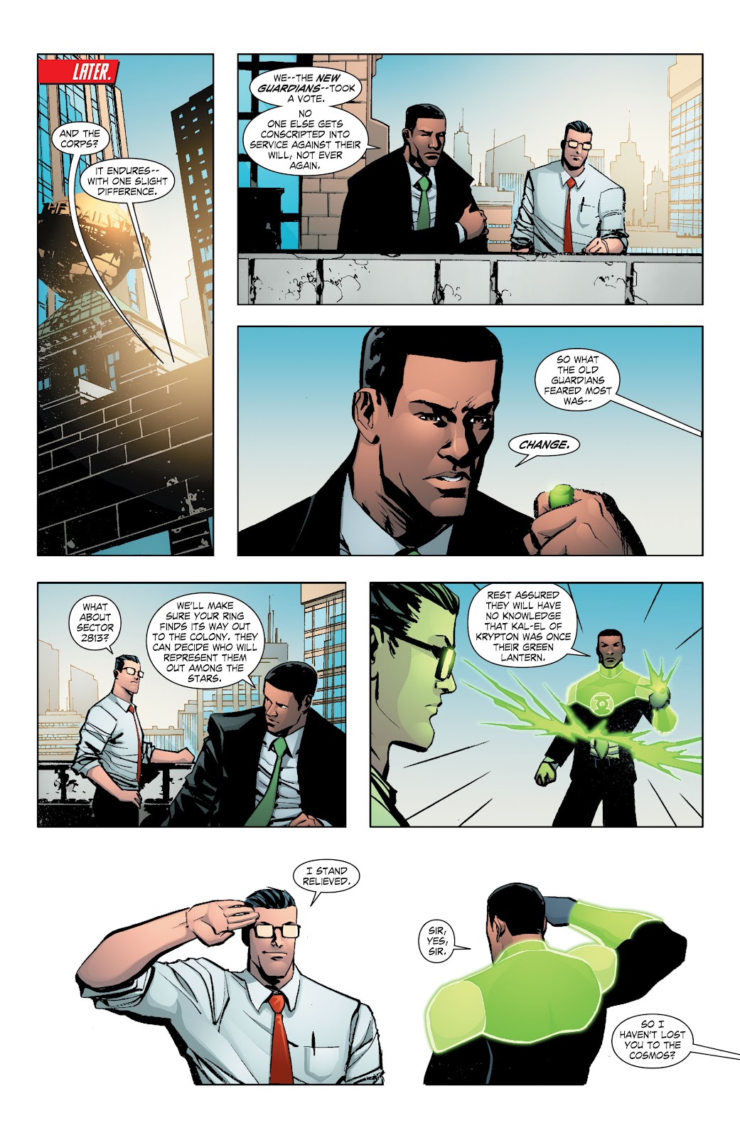 Read online Smallville Season 11 [II] comic -  Issue # TPB 7 - 128