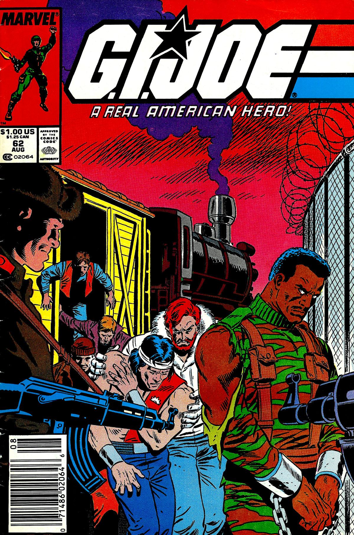 G.I. Joe: A Real American Hero 62 Page 1