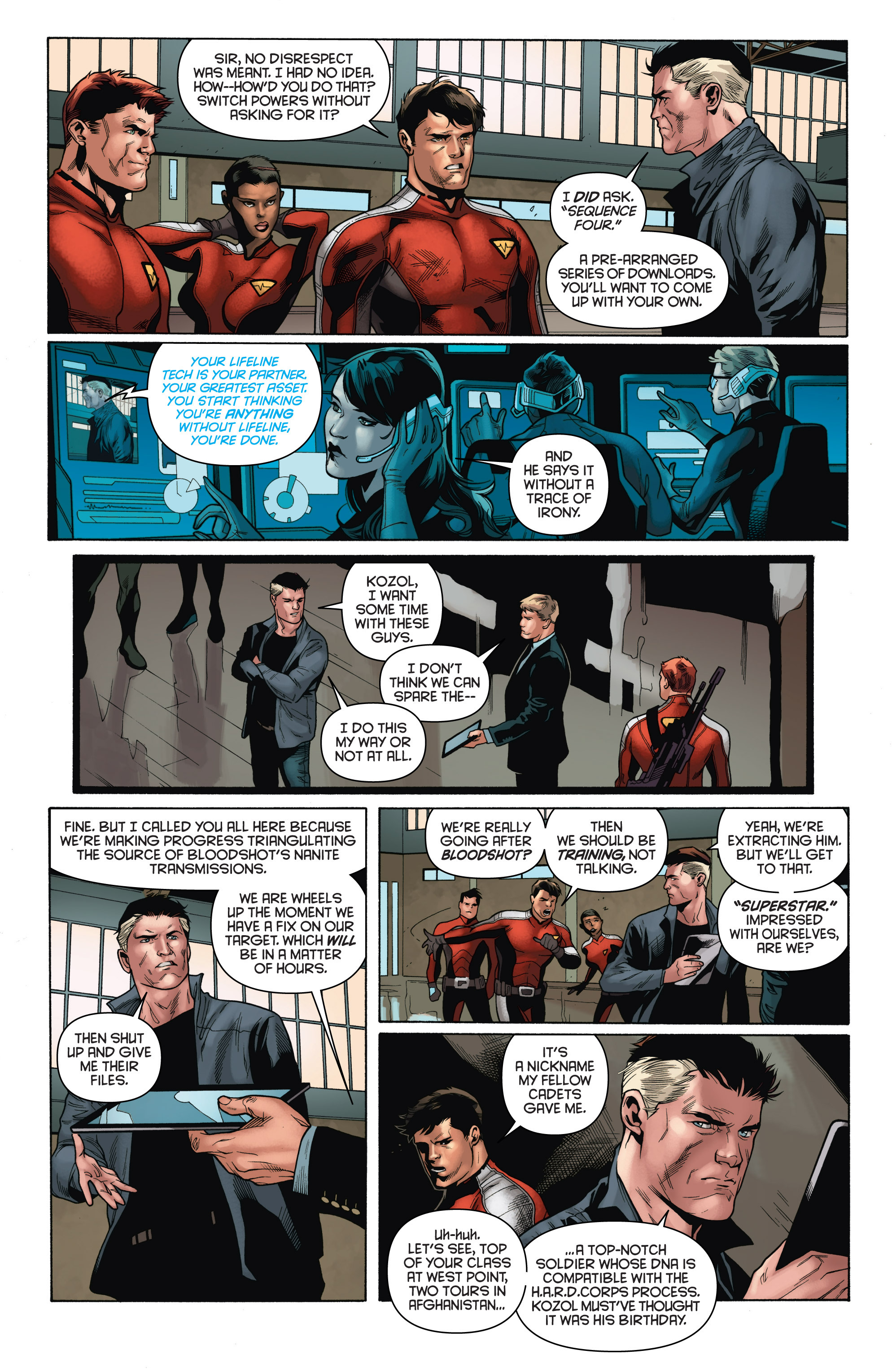 Read online Bloodshot and H.A.R.D.Corps comic -  Issue # TPB 4 - 23
