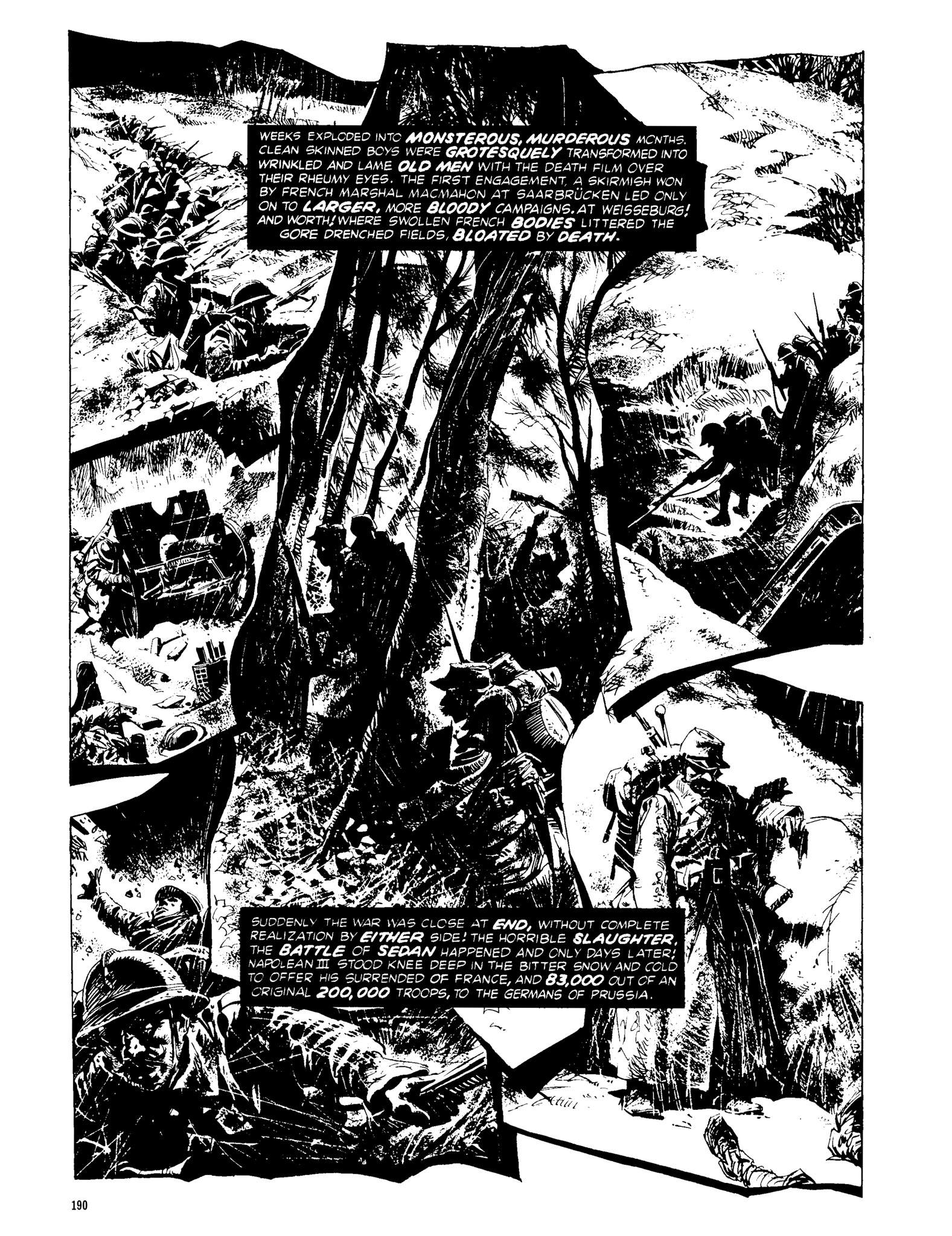 Read online Eerie Archives comic -  Issue # TPB 13 - 191