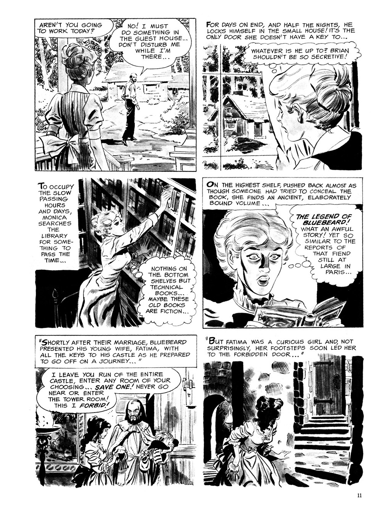 Read online Eerie Archives comic -  Issue # TPB 1 - 12