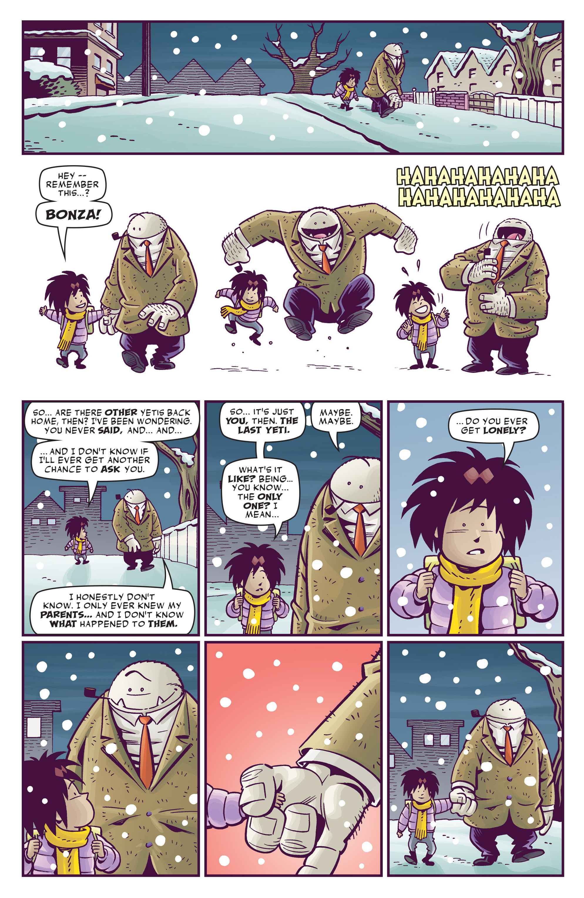 Read online Abigail And The Snowman comic -  Issue #4 - 5