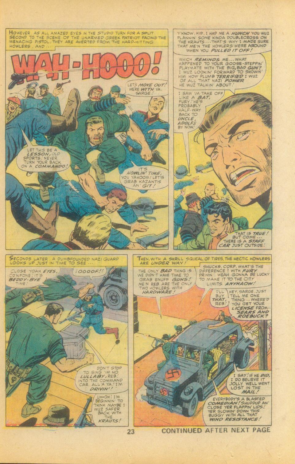 Read online Sgt. Fury comic -  Issue #135 - 25