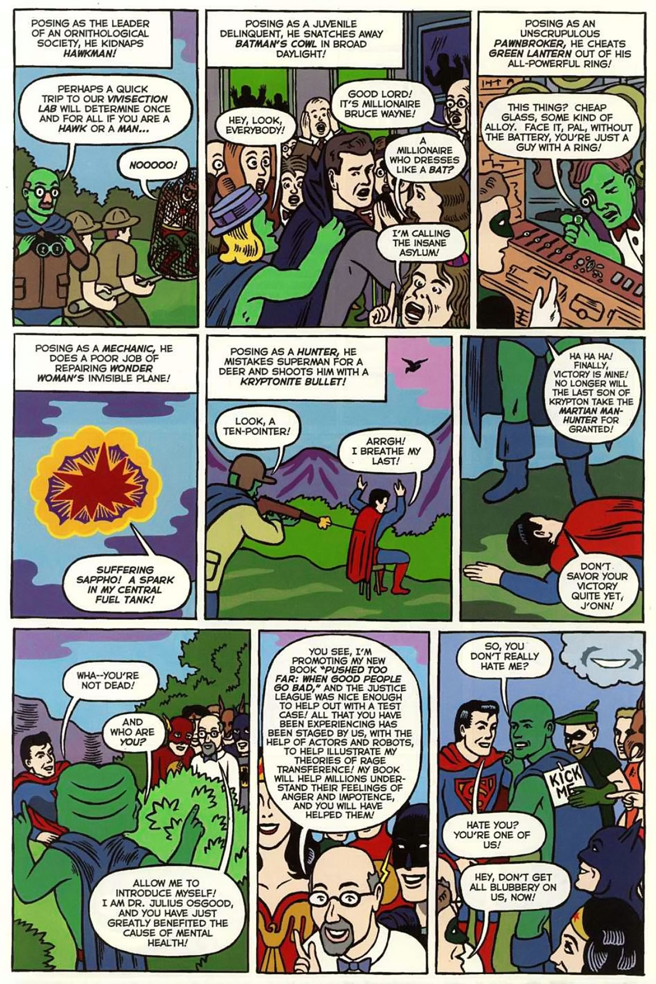 Read online Bizarro World comic -  Issue # TPB - 119