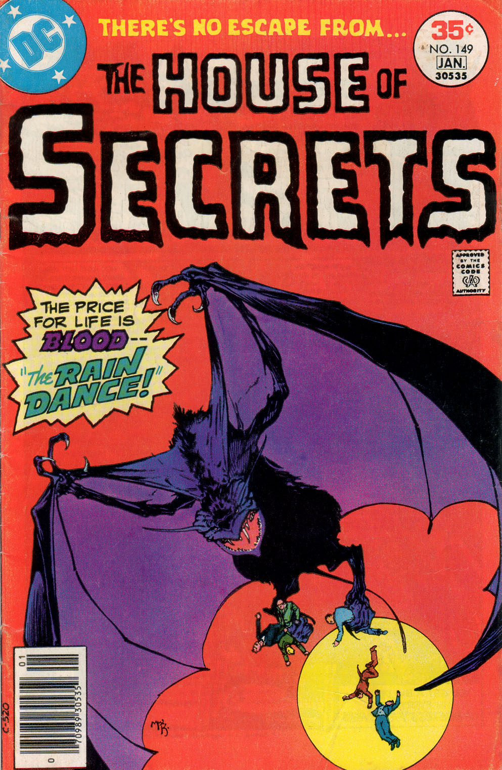 House of Secrets (1956) issue 149 - Page 1
