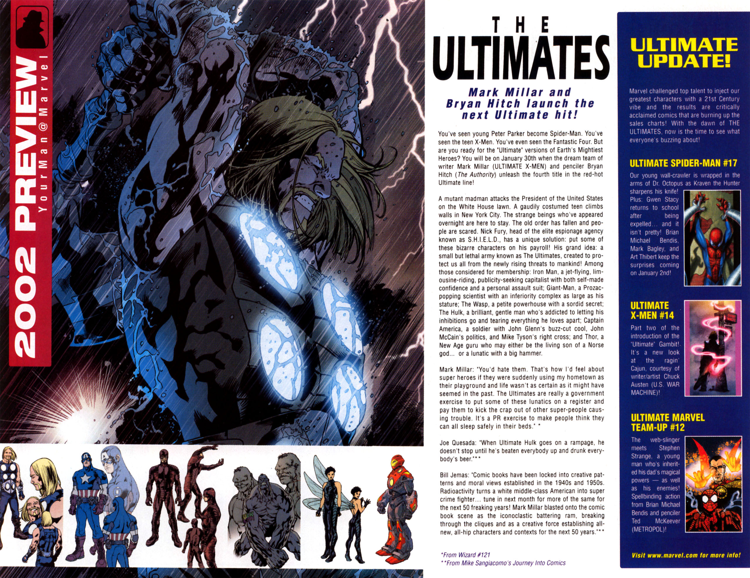 Read online Ultimate Marvel Team-Up comic -  Issue #11 - 34