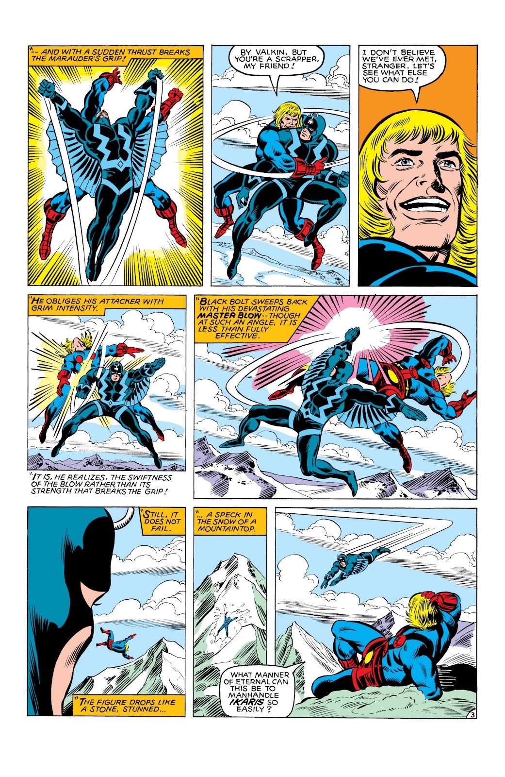 Read online Marvel Masterworks: The Inhumans comic -  Issue # TPB 2 (Part 3) - 84