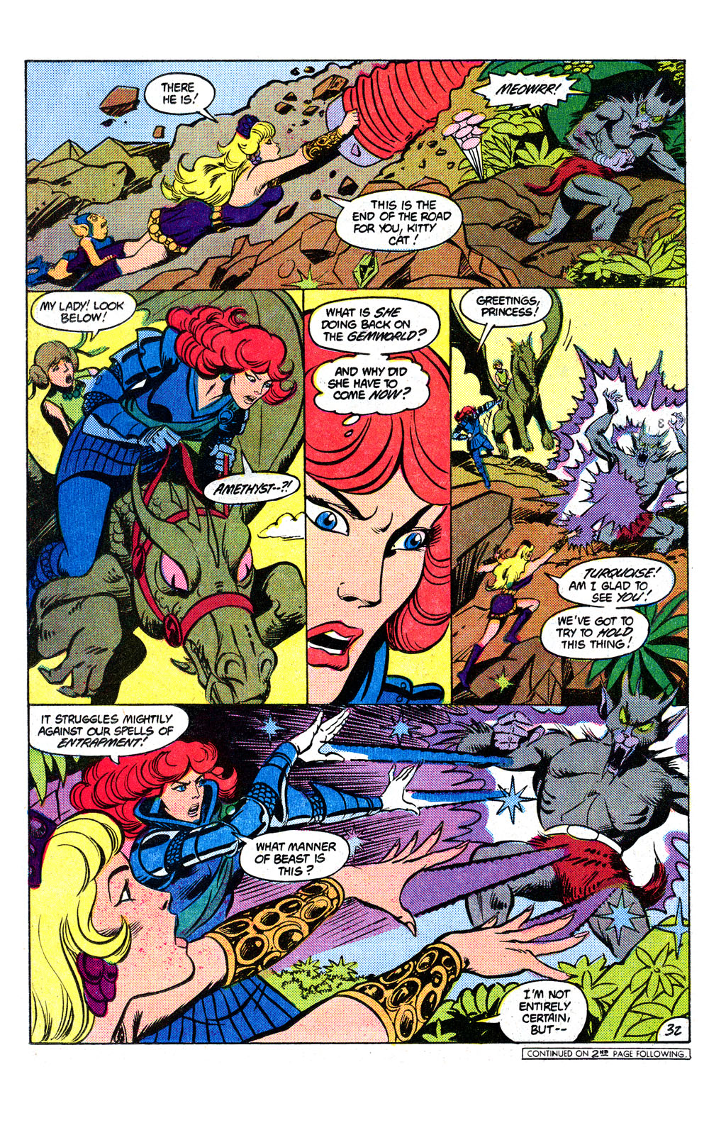 Read online Amethyst, Princess of Gemworld comic -  Issue # _Annual 1 - 33
