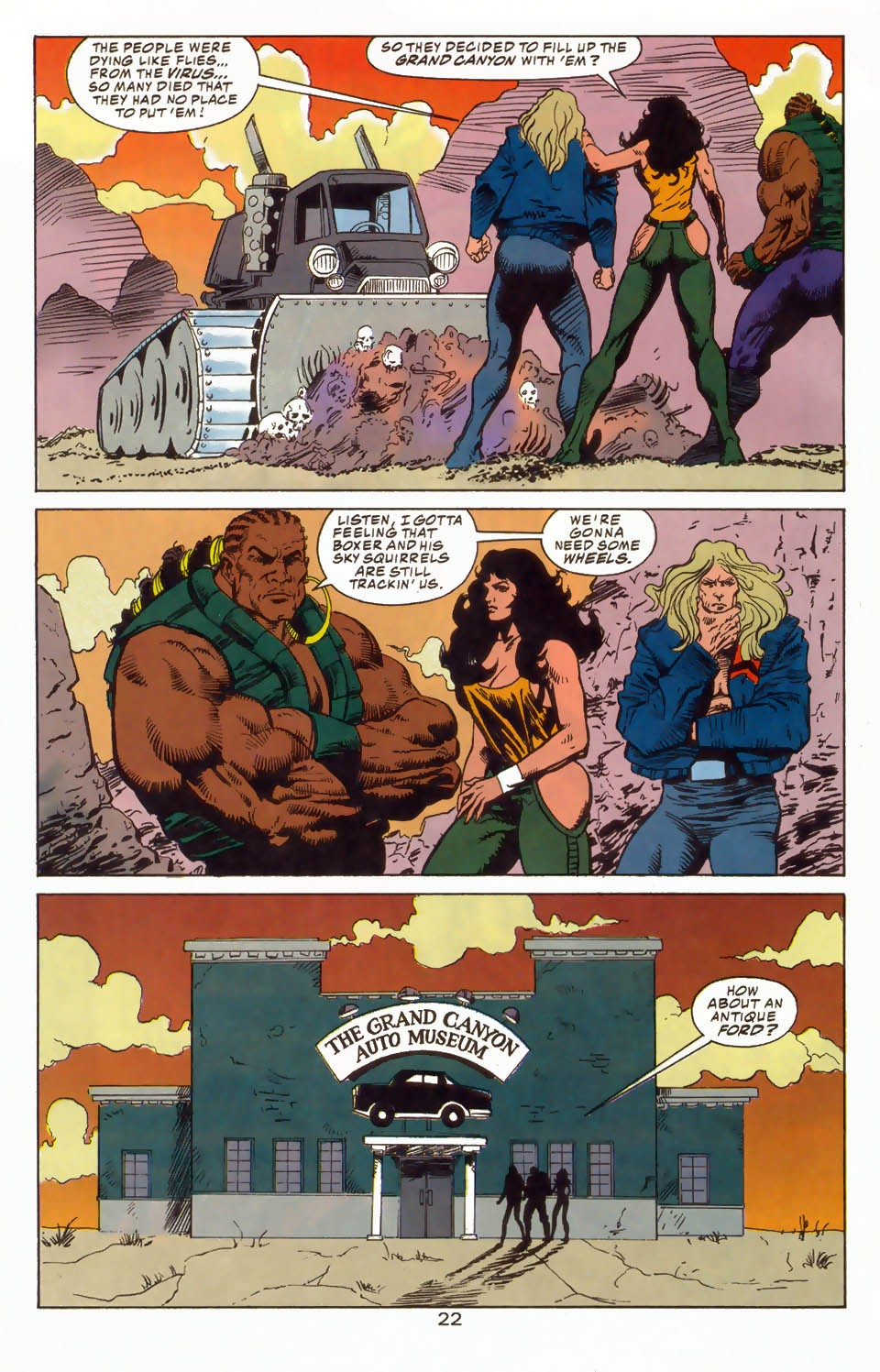 Read online Kamandi: At Earth's End comic -  Issue #4 - 26