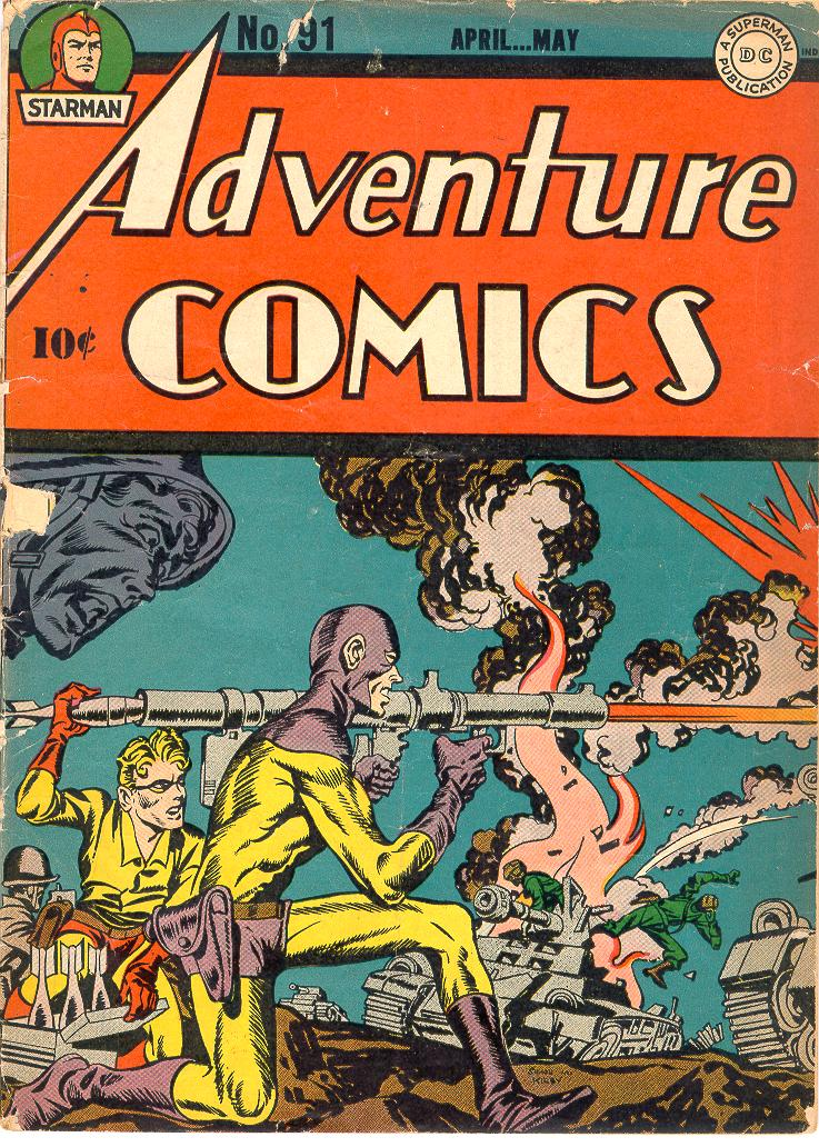 Read online Adventure Comics (1938) comic -  Issue #91 - 1