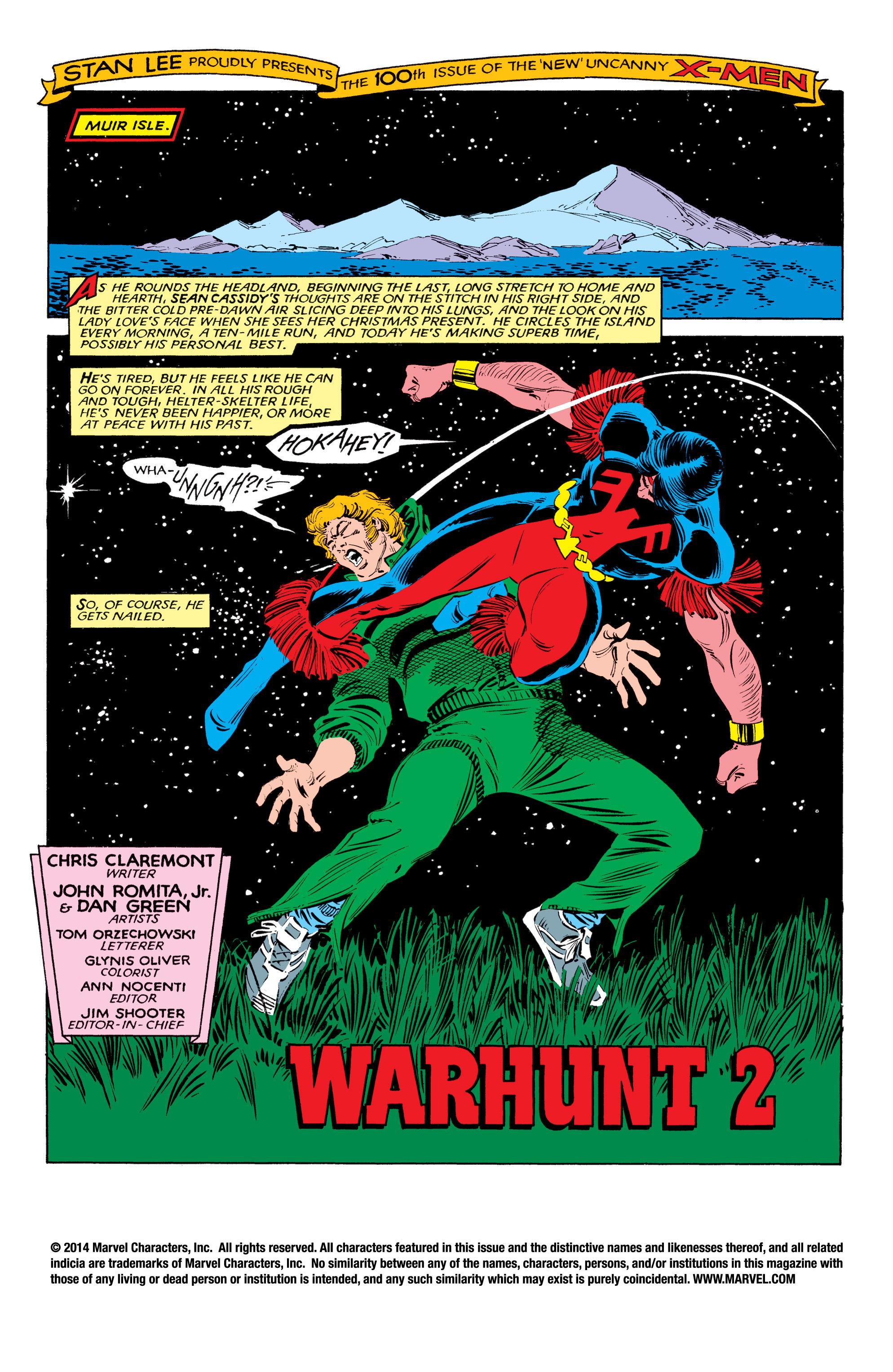 Read online Uncanny X-Men (1963) comic -  Issue #193 - 2