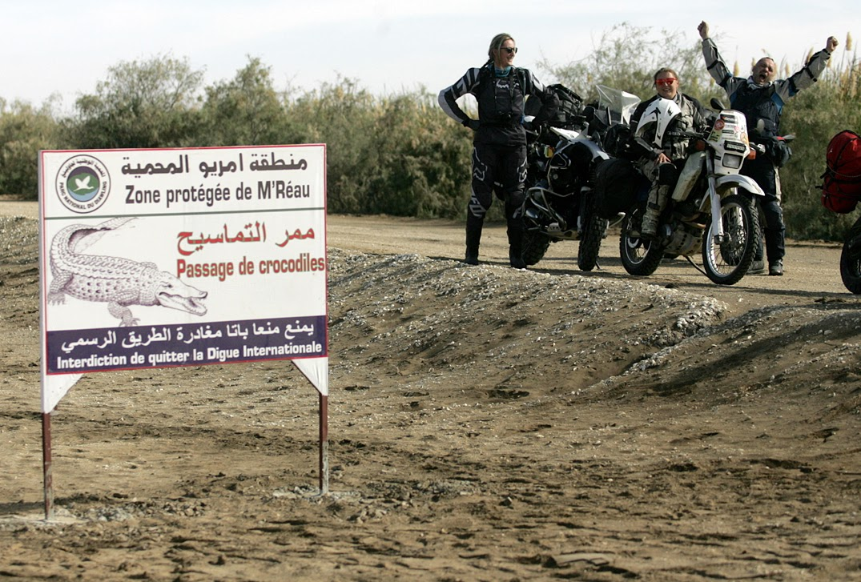 wyprawa motocyklowa do Afryki