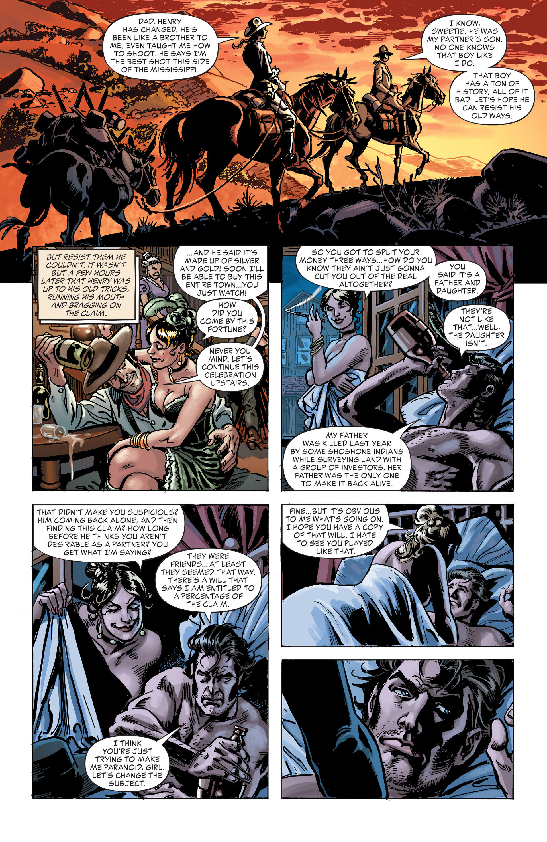 Read online All-Star Western (2011) comic -  Issue #30 - 17