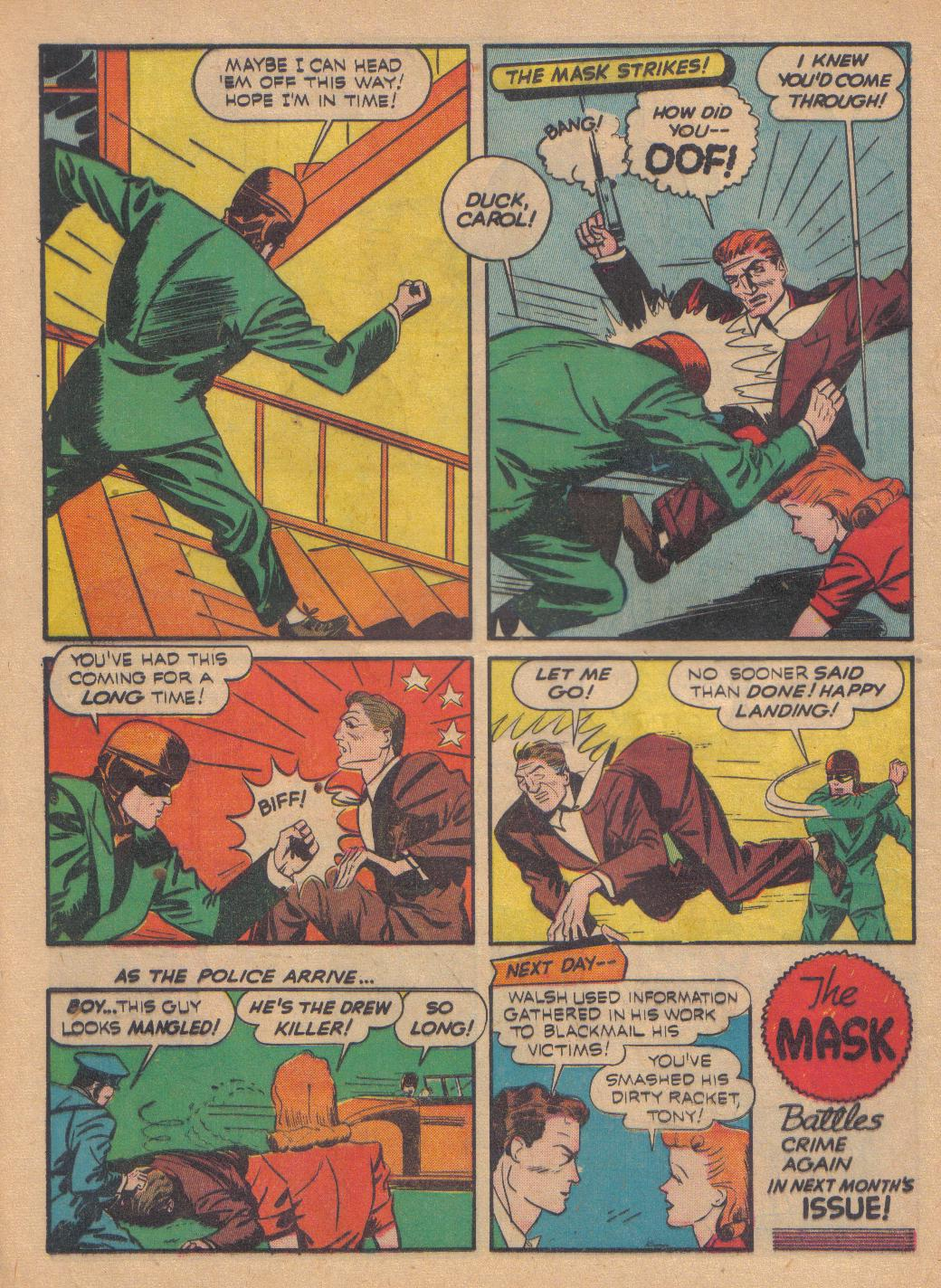 Exciting Comics (1940) issue 13 - Page 44
