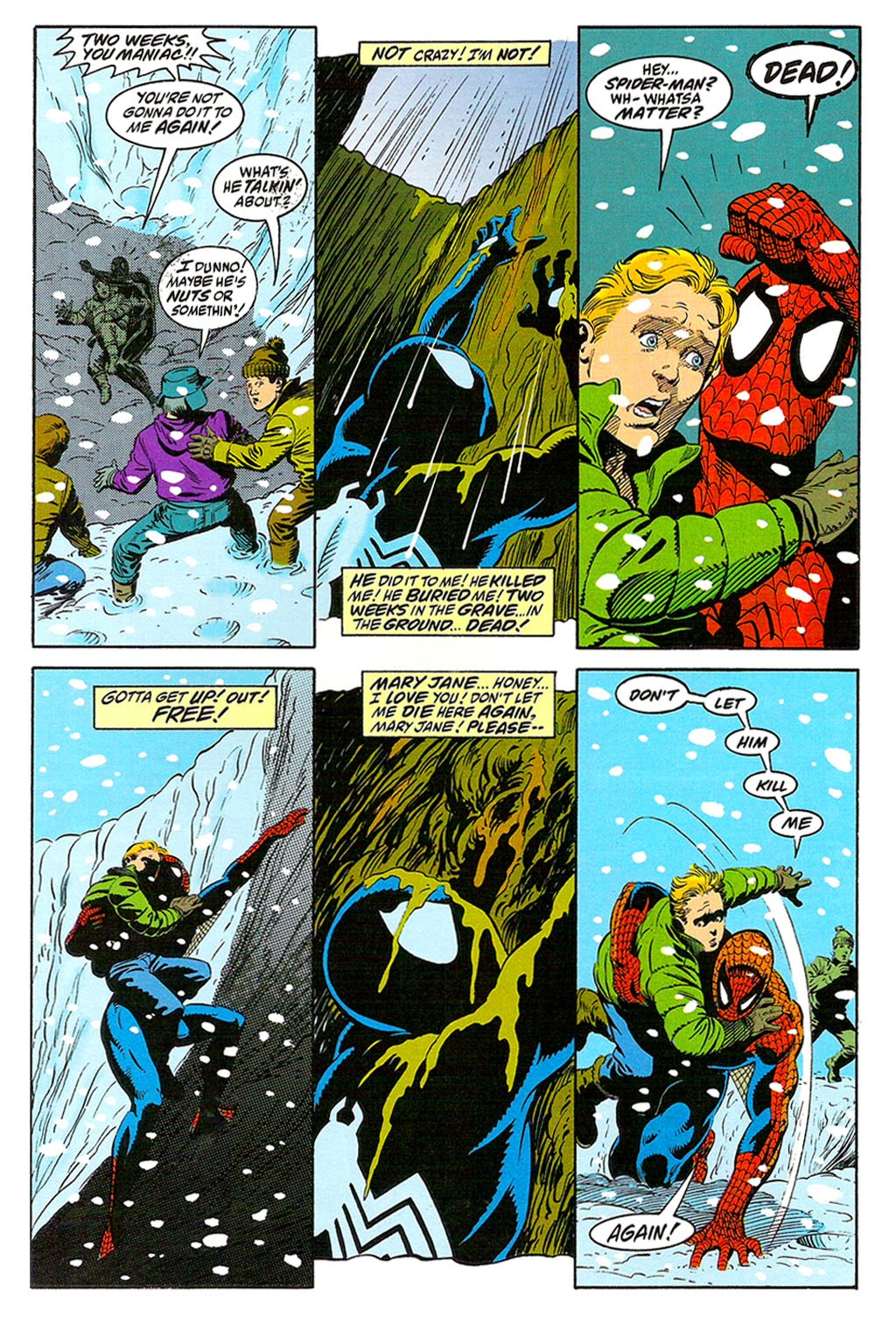 Read online The Amazing Spider-Man: Soul of the Hunter comic -  Issue # Full - 12