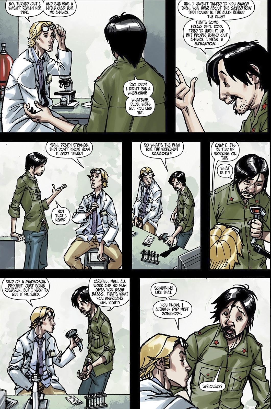 Read online Shinku comic -  Issue #3 - 9