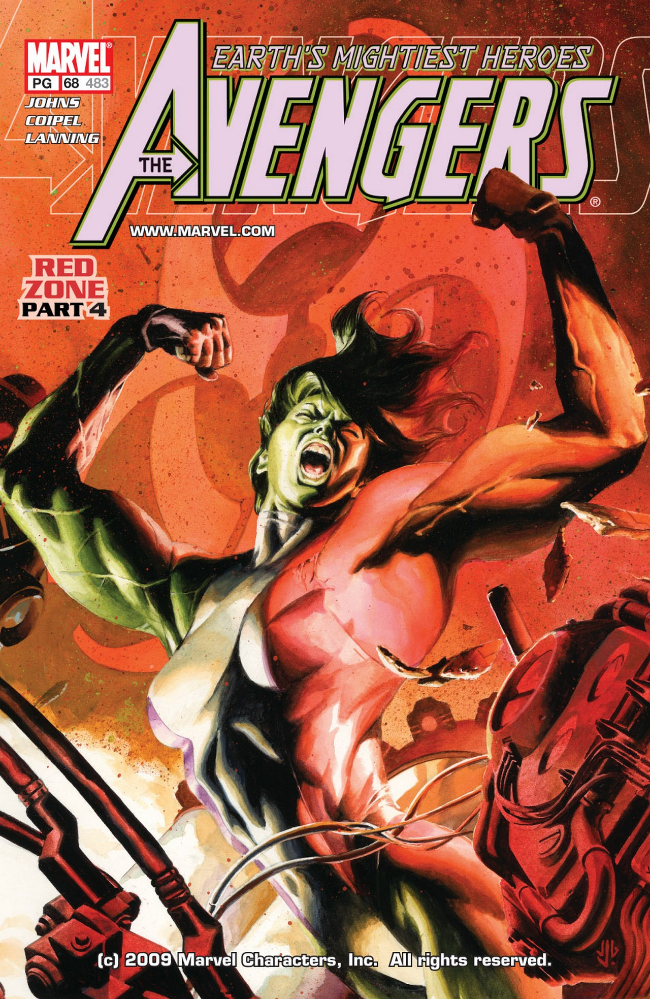 Read online Avengers (1998) comic -  Issue #68 - 1