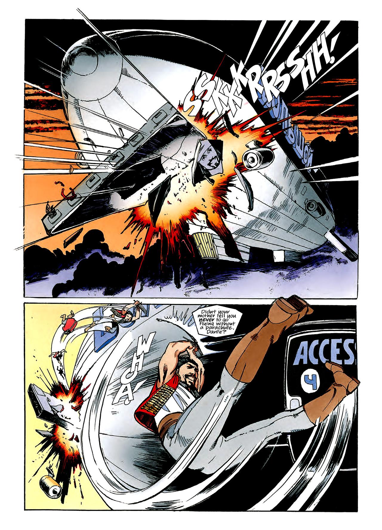 Read online Nikolai Dante comic -  Issue # TPB 3 - 112