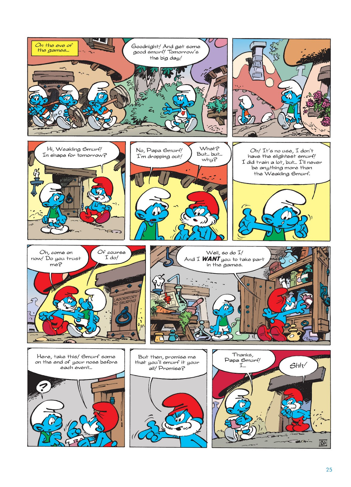 Read online The Smurfs comic -  Issue #11 - 25