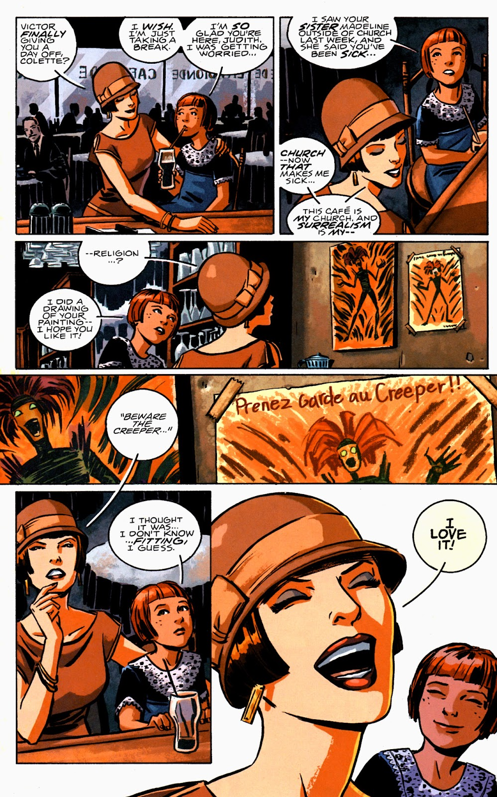 Read online Beware The Creeper (2003) comic -  Issue #2 - 9