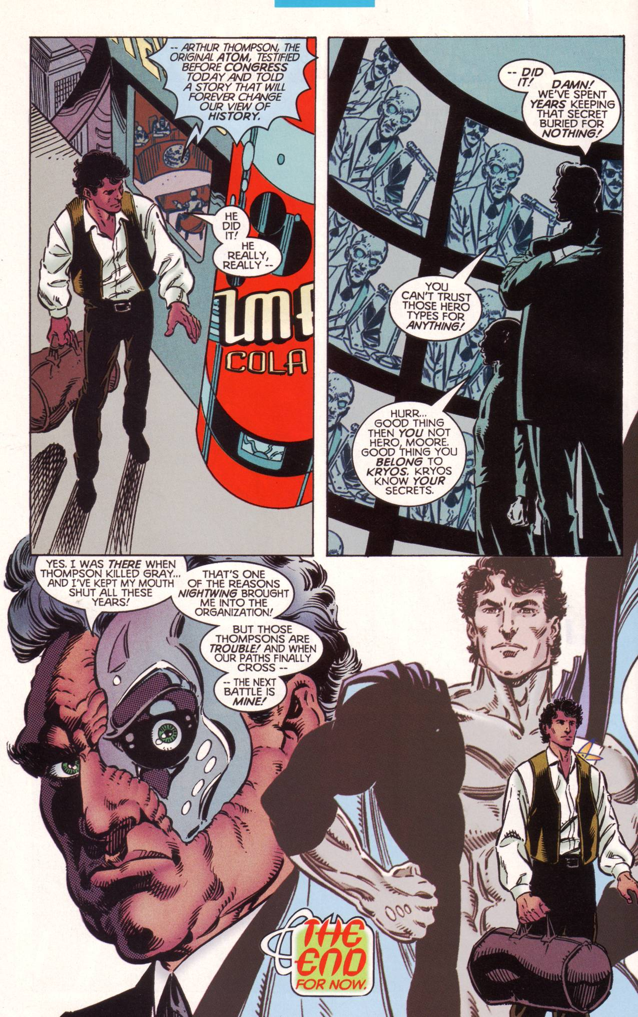 Read online Tangent Comics/ The Atom comic -  Issue # Full - 39