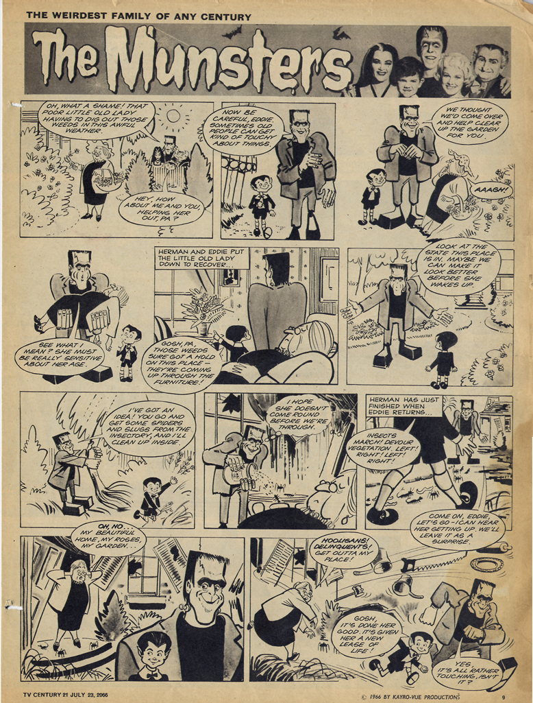 Read online TV Century 21 (TV 21) comic -  Issue #79 - 9
