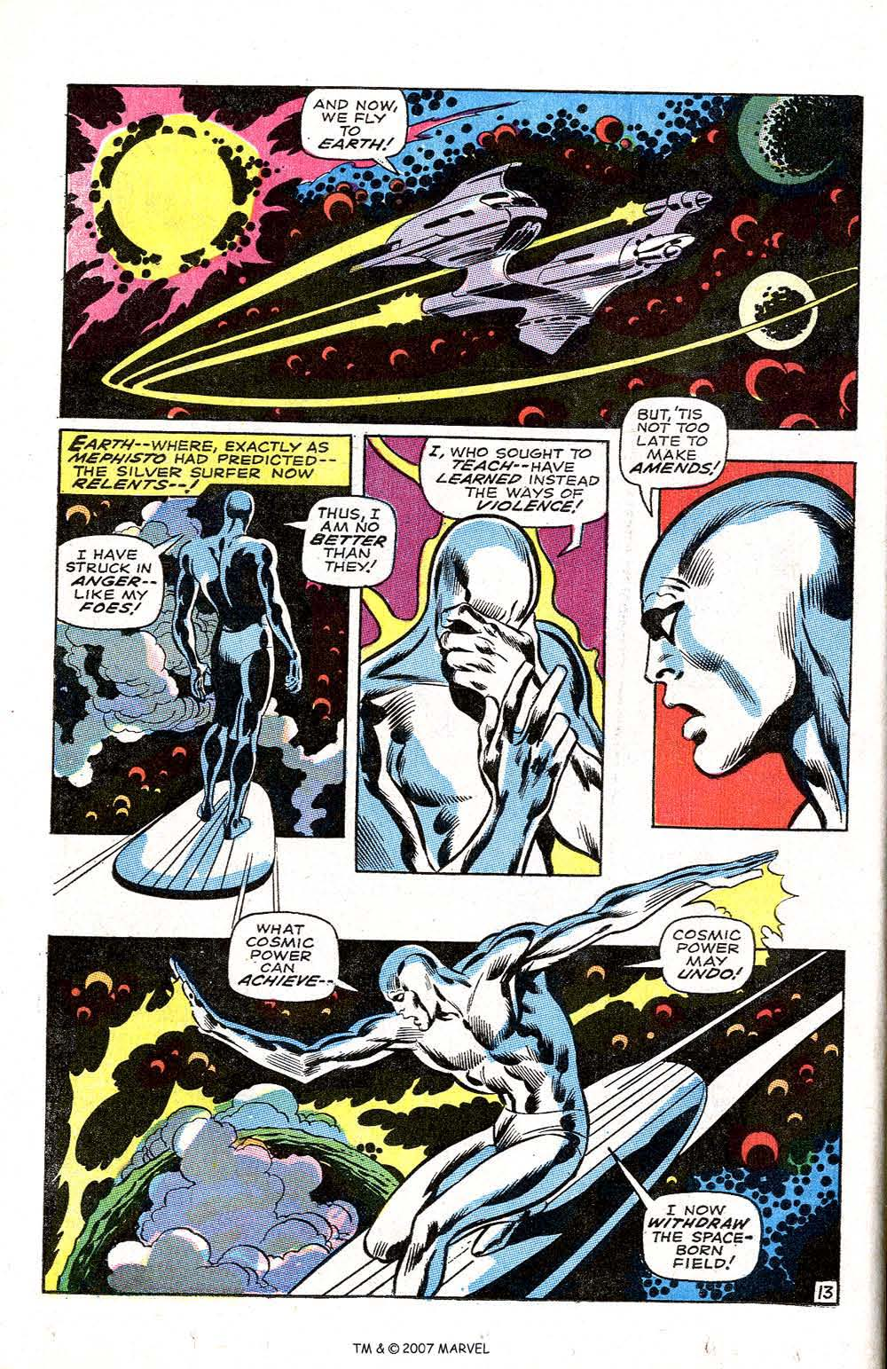 Silver Surfer (1968) issue 3 - Page 16