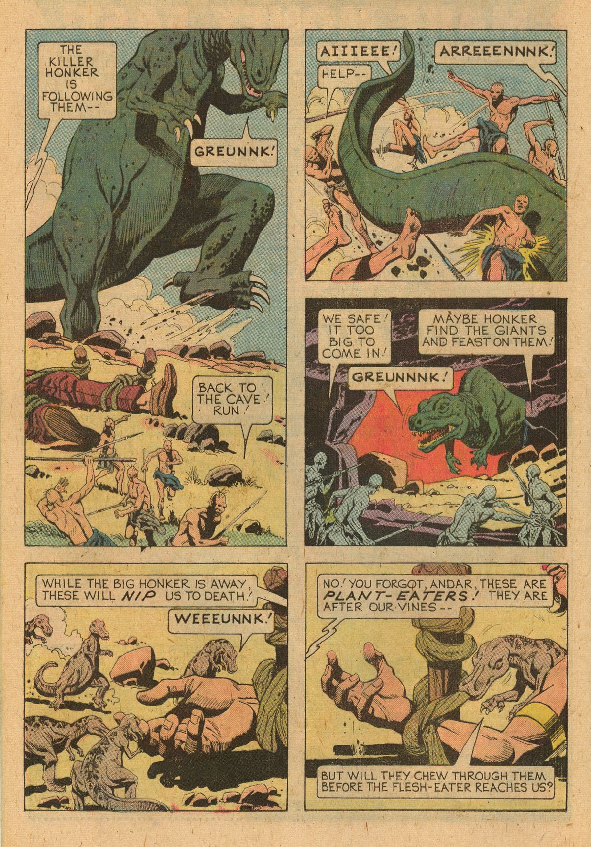 Read online Turok, Son of Stone comic -  Issue #107 - 16