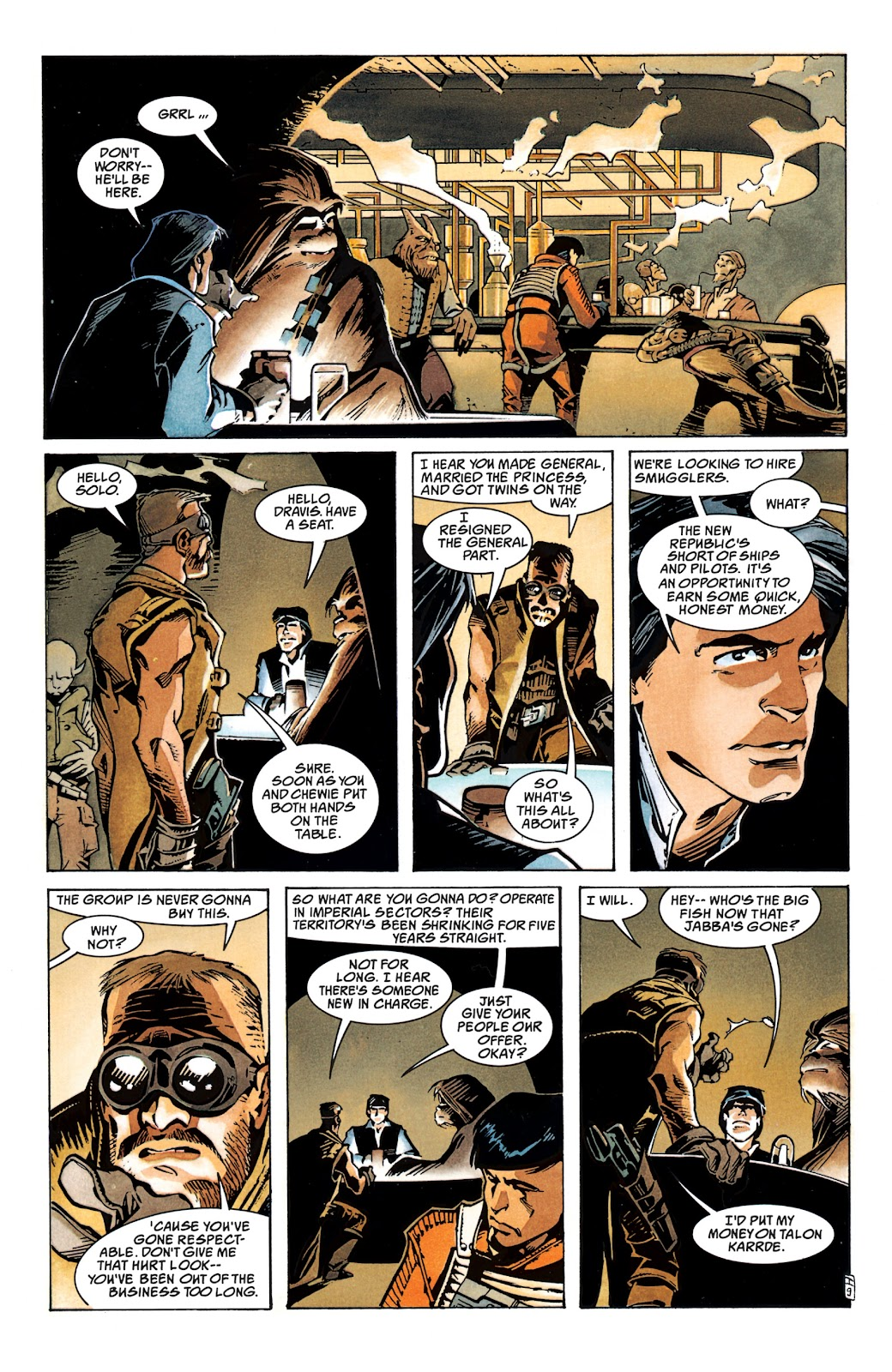 Read online Star Wars Legends: The New Republic - Epic Collection comic -  Issue # TPB 4 (Part 1) - 15