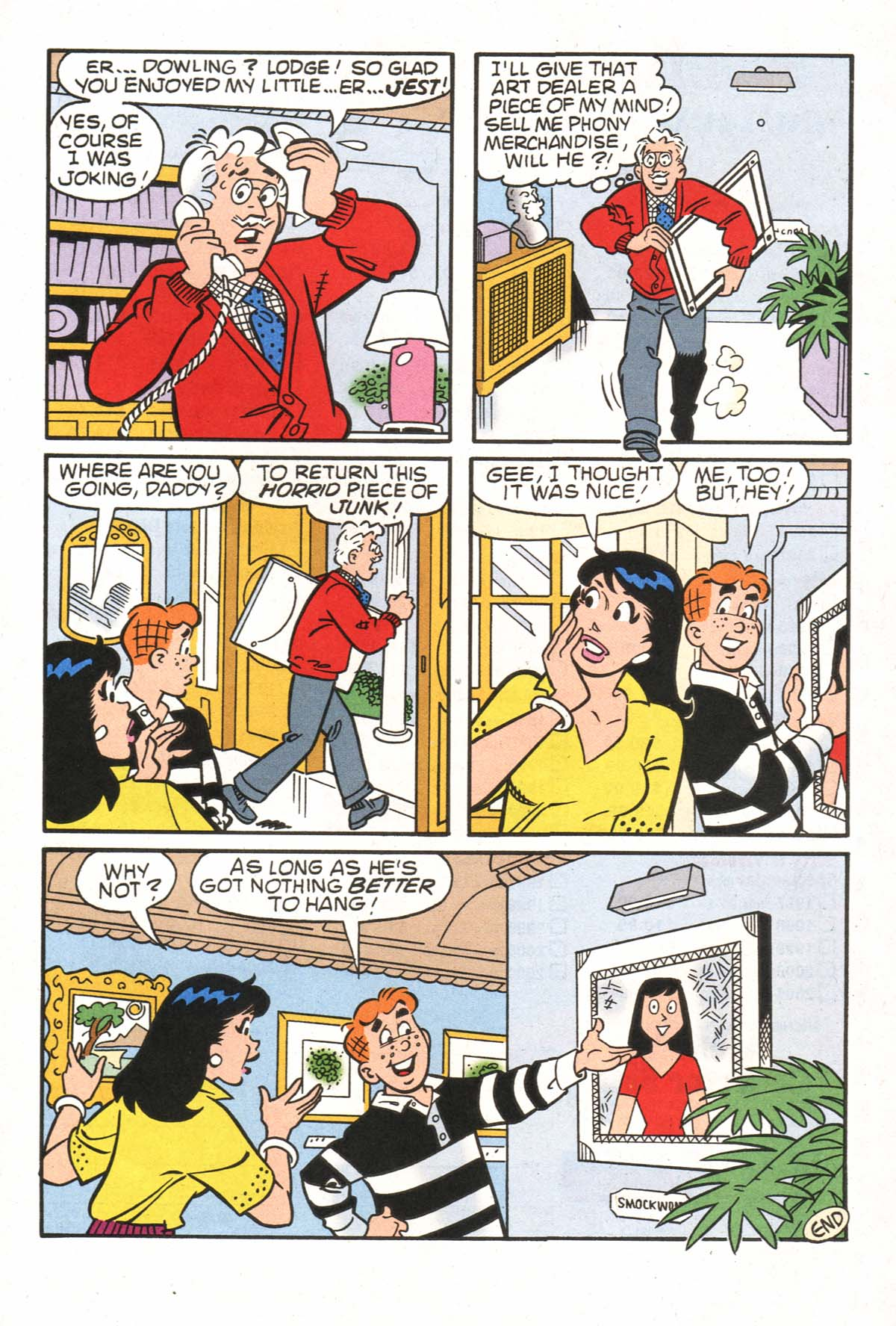 Read online Archie (1960) comic -  Issue #523 - 28