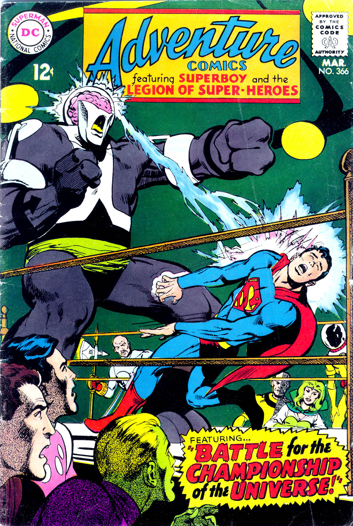 Read online Adventure Comics (1938) comic -  Issue #366 - 1
