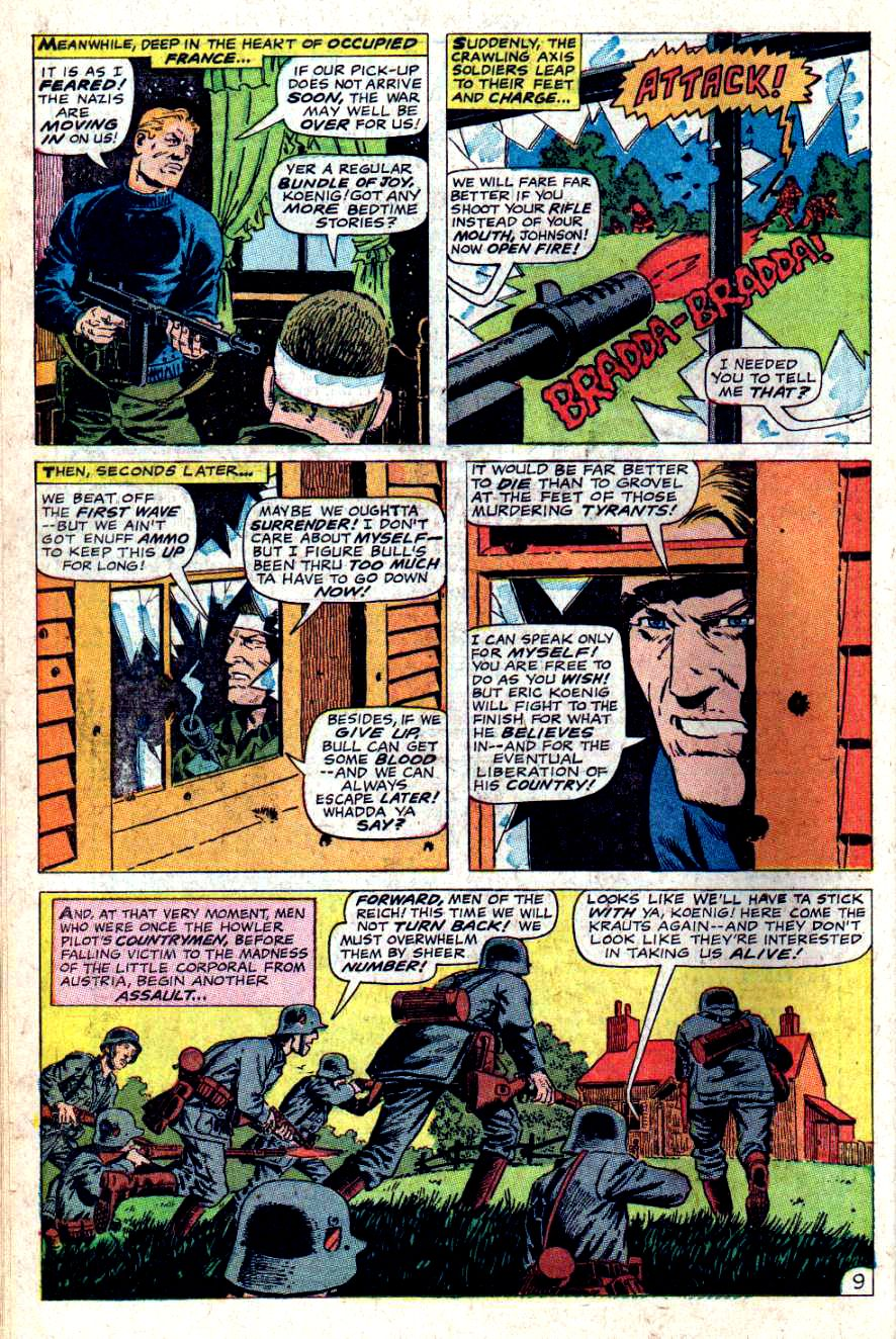 Read online Sgt. Fury comic -  Issue #46 - 14