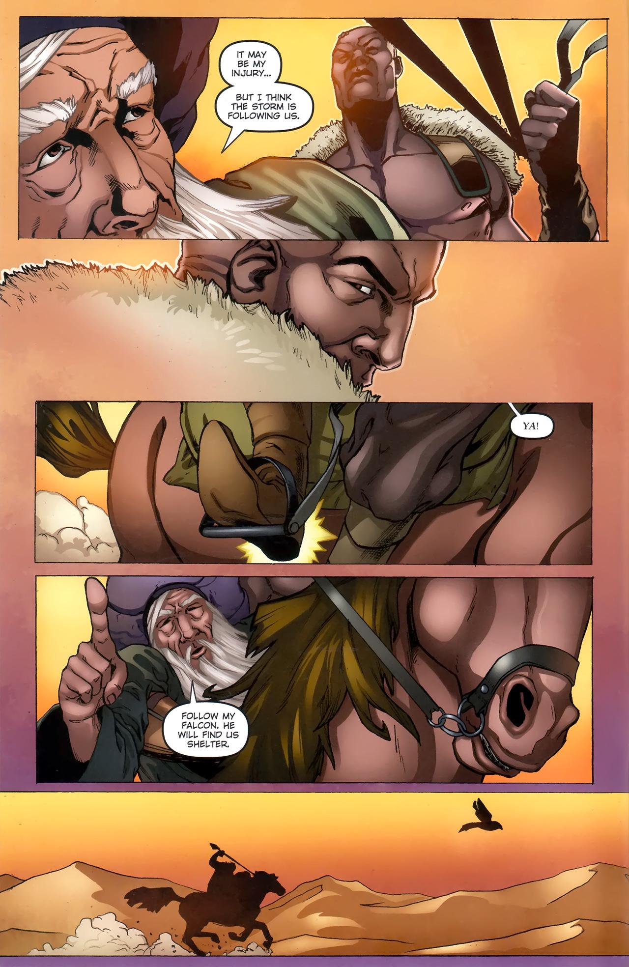 Read online 1001 Arabian Nights: The Adventures of Sinbad comic -  Issue #11 - 4