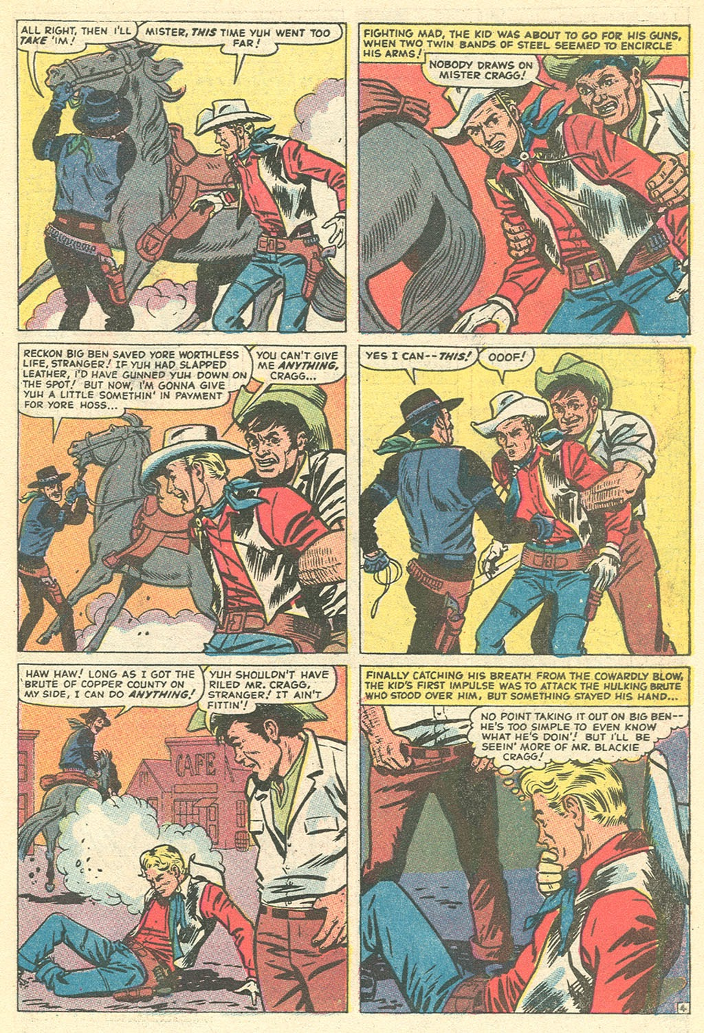 Kid Colt Outlaw issue 151 - Page 7